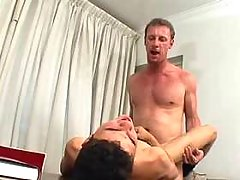 Dirty daddy spoils spotless boy