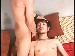Asian boy gains appealing facial