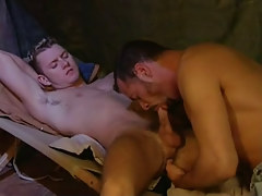 Young gay sucked by mature boy