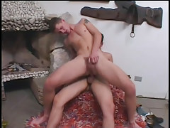 Two horny twinks getting in a fuck fest in 5 video